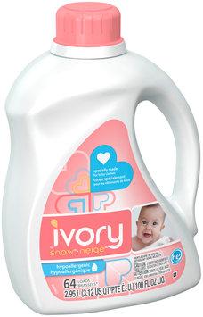 Ivory Snow HE Liquid Laundry Detergent 2.95L 64 loads