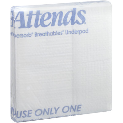 ASB-3036 Attends® SuperSorb® Breathables® Super Underpads 30 in. x 36 in., 5 count