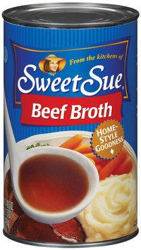 Sweet Sue Beef Club Pack Broth 49.5 Oz Can