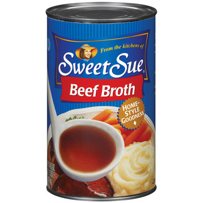 Sweet Sue Beef Club Pack Broth 49.5 Oz Can