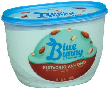 Blue Bunny™ Pistachio Almond Ice Cream 48 fl. oz. Tub