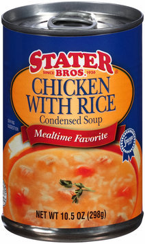 Stater Bros.® Chicken with Rice Condensed Soup 10.5 oz. Can
