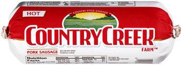 Country Creek Farm™ Hot Pork Sausage 16 oz. Chub