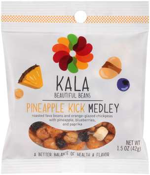 Kala Beautiful Beans Pineapple Kick Medley 1.5 oz. Bag