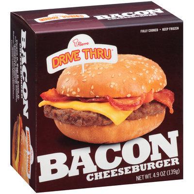 Pierre™ Drive Thru™ Bacon Cheeseburger 4.9 oz. Box