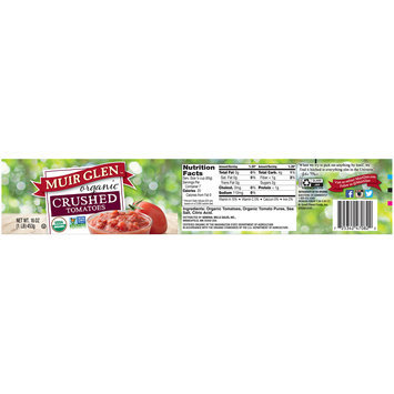 Muir Glen™ Organic Crushed Tomatoes 16 oz. Jar