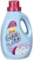 Cuddle Soft 3x Ultra Original Fresh 64 Loads Fabric Softener 64 Oz Plastic Jug