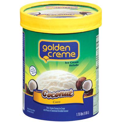 Golden Creme Coconut Ice Cream 1.75 Qt Carton