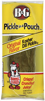 B&G Kosher Dill Original Pickle In A Pouch Pickle 1 Ct Pouch