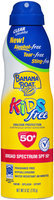 Banana Boat® Clear UltraMist® Kids Free Broad Spectrum SPF 50+ Continuous Spray Sunscreen 6 oz. Aerosol Can