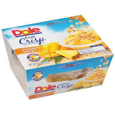 Dole® Pineapple Mango Fruit Crisp 4 oz. Sleeve
