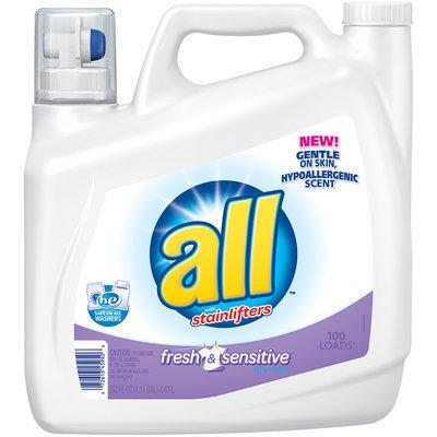 all® fresh & sensitive Laundry Detergent 150 fl. oz. Bottle