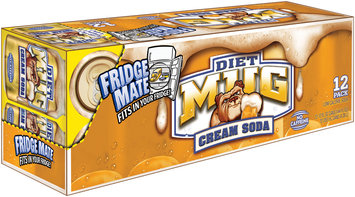 Mug® Diet Cream Soda 12 Pack 12 fl. oz. Cans