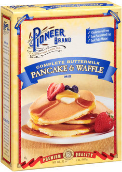 Pioneer Brand® Complete Buttermilk Pancake & Waffle Mix 32 oz. Box