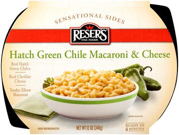 Reser's Fine Foods® Sensation Sides Hatch Green Chile Macaroni & Cheese 12 oz. Tray
