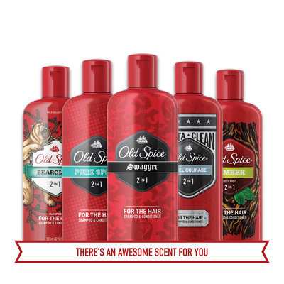 Old Spice Bearglove 2in1 Shampoo and Conditioner, 25.3 oz