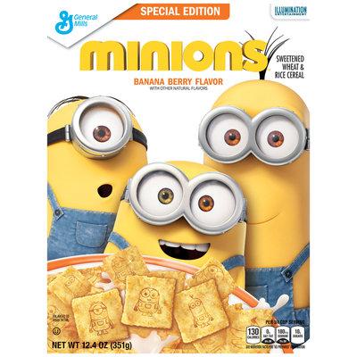 Minions™ Banana Berry Flavor Cereal 12.4 oz. Box