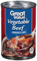 Great Value: Vegetable Beef Condensed Soup, 10.5 Oz