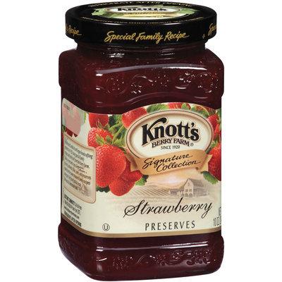 Knott's Berry Farm Strawberry Preserves 10 Oz Jar