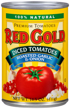 Red Gold® Roasted Garlic & Onion Diced Tomatoes 14.5 oz. Can