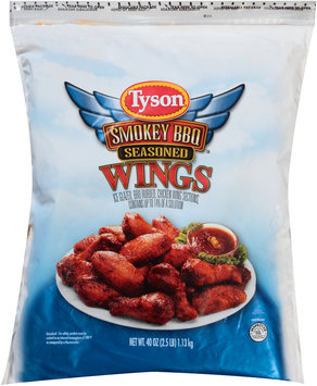 Tyson® Uncooked BBQ Seasoned Wings Sections 2.5 lbs.