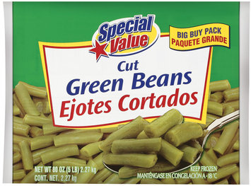 Special Value Cut Green Beans