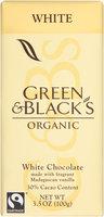 Green & Black's® Organic White Chocolate 3.5 oz. Bar