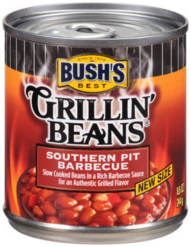 Bush's Best® Grillin' Beans® Southern Pit Barbecue 8.6 oz. Can