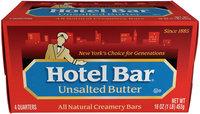 Hotel Bar® Unsalted Butter 16 oz. Box