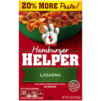 Betty Crocker® Lasagna Hamburger Helper® 6.9 oz. Box