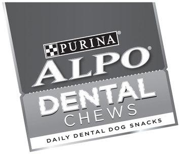 Purina Alpo Dental Chews Daily Dental Dog Snacks Logo