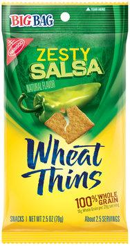 Nabisco Wheat Thins Zesty Salsa Snacks 2.5 oz. Bag