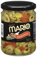 Mario Spanish Sliced Salad Olives 10 Oz Jar