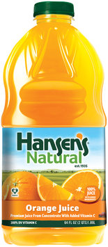 Hansen's® Natural Orange 100% Juice 64 fl. oz. Bottle