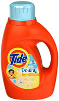 Tide Plus Touch of Downy Sun Blossom Scent HE Liquid Laundry Detergent 50 fl. oz. Bottle