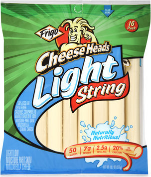Frigo® Cheese Heads® Light String Cheese