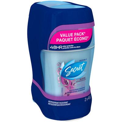 Scent Expressions Secret Scent Expressions Invisible Solid Ooh La La Lavender Antiperspirant/Deodorant 2 count, 45 g