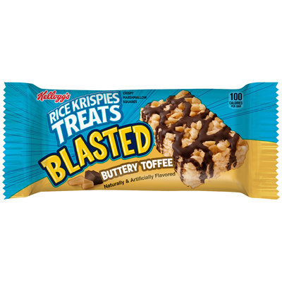 Kellogg's® Rice Krispies Treats® Blasted Buttery Toffee Crispy Marshmallow Squares