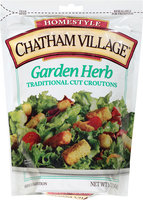 Chatham Village® Garden Herb Traditional Cut Croutons 5 oz. Bag