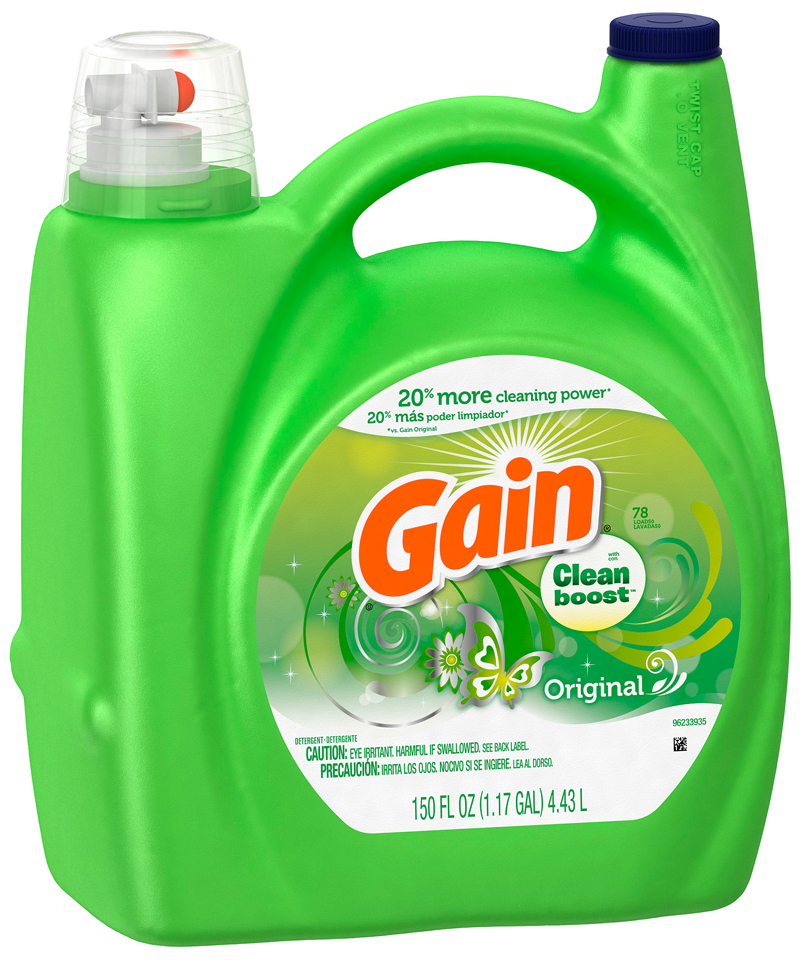 Gain with Clean Boost™ Original Liquid Detergent 150 fl. oz. Bottle