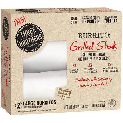 Three Bold Brothers™ Grilled Steak Burritos 2 ct Box