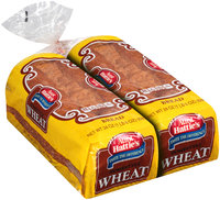 Aunt Hattie's® Homestyle Wheat Bread 2-24 oz. Loaves