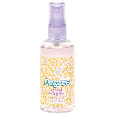 Degree Body Mist Sexy Intrigue Degree Women 3 Fl Oz Spray Bottle