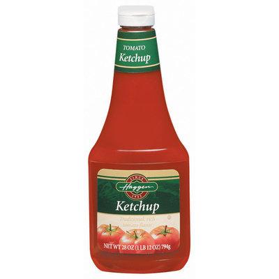 Haggen Tomato Ketchup 28 Oz Plastic Bottle