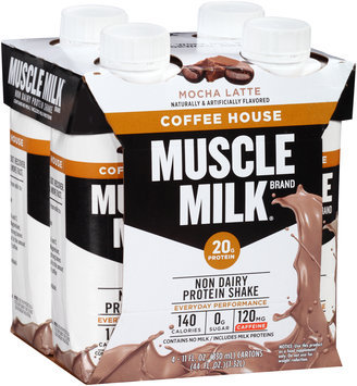 Muscle Milk® Coffee House Mocha Latte Non Dairy Protein Shake