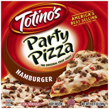 Totino's® Hamburger Party Pizza® 10.9 oz. Box