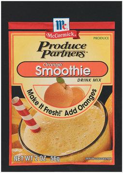 Produce Partners Orange Smoothie Drink Mix 2 Oz Peg