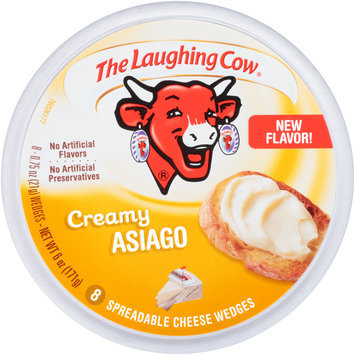 The Laughing Cow® Creamy Asiago Spreadable Cheese