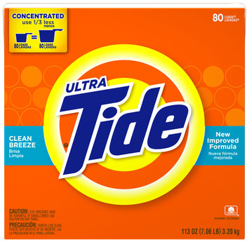 Tide Ultra Clean Breeze Scent Powder Laundry Detergent