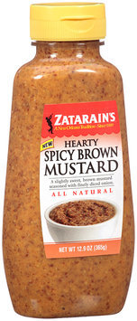Zatarain's® Hearty Spicy Brown Mustard 12.9 oz. Bottle